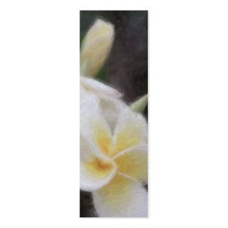 Hawaiian Tropical Floral Bookmark Business Card