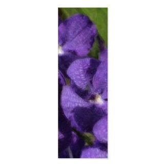 Hawaiian Tropical Floral Bookmark Business Card Template