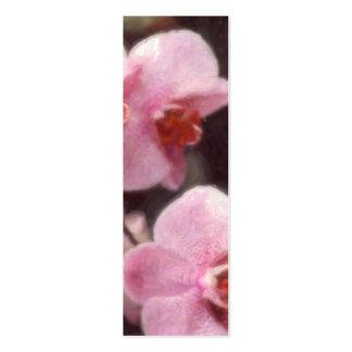 Hawaiian Tropical Floral Bookmark Business Cards