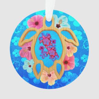 Hawaiian Tropical Honu Ornament