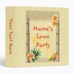 Hawaiian Tropical Luau Party Photo Album Binder