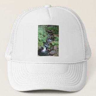 Hawaiian Tropical Stream Trucker Hat