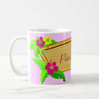 Hawaiian Tropics Floral Template Mug