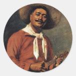 'Hawaiian Troubadour' - Hubert Vos Sticker