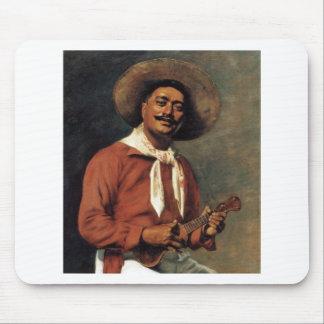 Hawaiian Troubadour, oil on canvas Mouse Pad