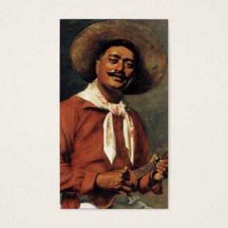 Hawaiian Troubadour, oil on canvas painting Business Card