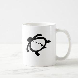 Hawaiian Turtle Classic White Coffee Mug
