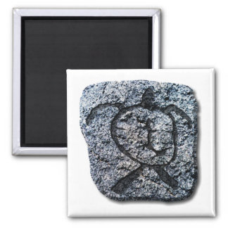 Hawaiian Turtle-stone Refrigerator Magnet