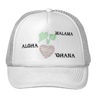 Hawaiian Values Trucker Hat