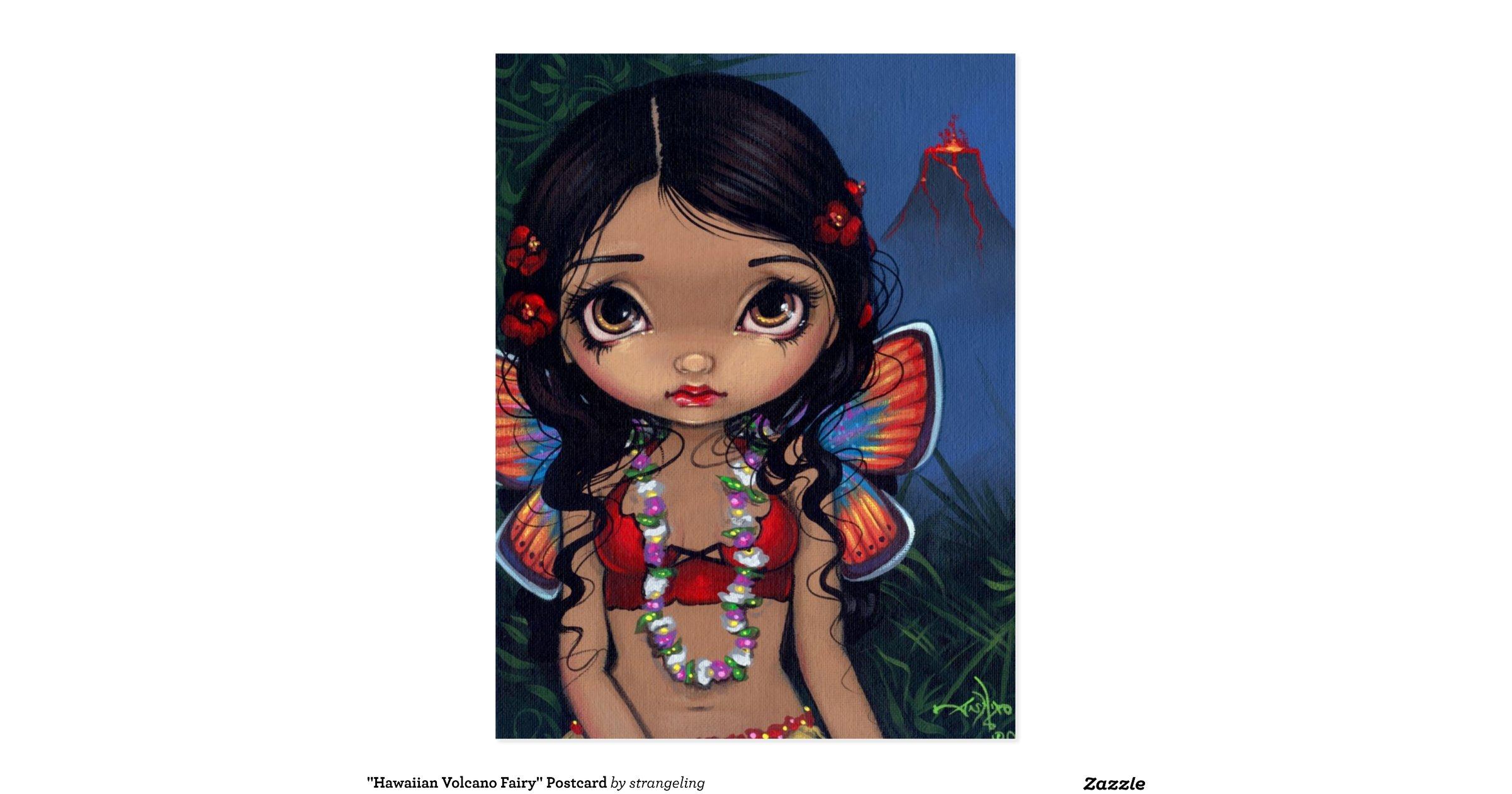 hawaiian_volcano_fairy_postcard ...