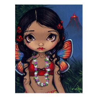 """""""Hawaiian Volcano Fairy"""" Postcard"""