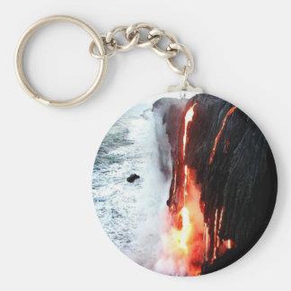 Hawaiian Volcano Keychain