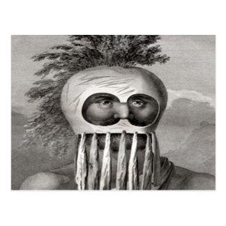 Hawaiian Warrior King Kamehameha Post Cards