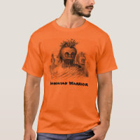 Hawaiian Warrior Men's T-Shirt