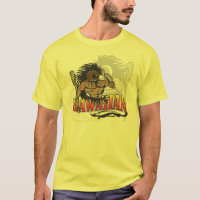Hawaiian Warrior Yellow shirt