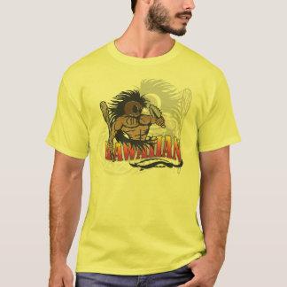 Hawaiian Warrior Yellow shirt
