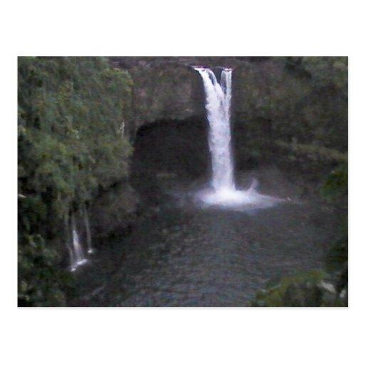 Hawaiian Waterfall Postcard