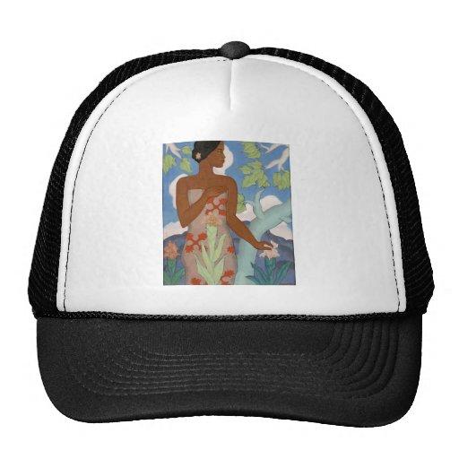 Hawaiian Woman, by Arman Manookian c. 1929 Trucker Hat
