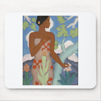 Hawaiian Woman, by Arman Manookian c. 1929 Mouse Pad