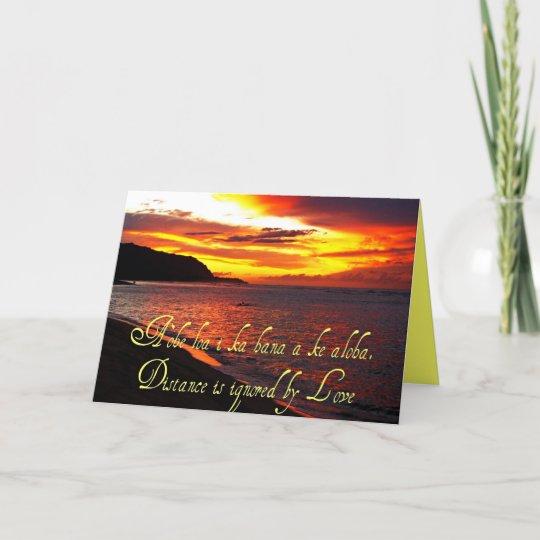 Hawaiian words and quotes card zazzle hawaiian words and quotes card m4hsunfo