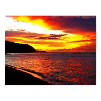 Hawaiian Words and Quotes Postcard