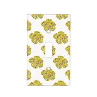 Hawaiian Yellow Flowers Switch Plate Covers
