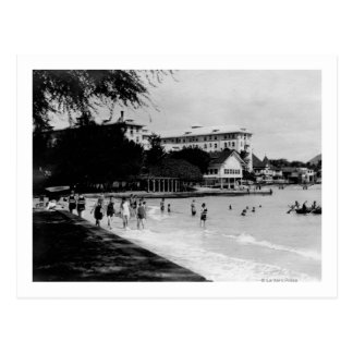 HawaiiBeachfront Scene PhotographHawaii Postcard