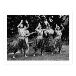 HawaiiHula Dancers PhotographHawaii Postcard