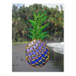 Hawaiin azul tarjetas postales