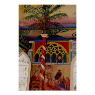 Hawaii's HIstoric St. Benedict's Painted Church Poster