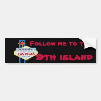 Hawaii's Ninth Island Bumper Sticker