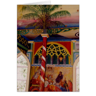 Hawaii's Painted Church Frescoe notecard #2