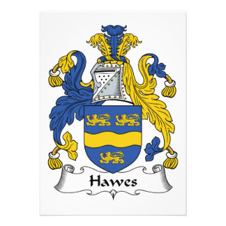 Hawes Family Crest Card