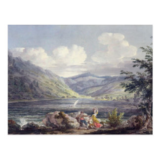 Haweswater, Westmoreland, c.1795 (w/c over graphit Postcard