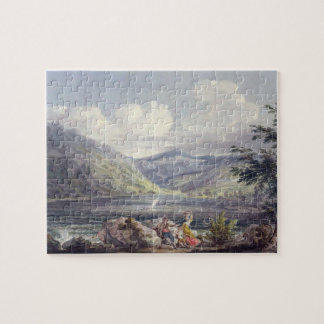 Haweswater Westmoreland c 1795 w c over graphit Puzzles