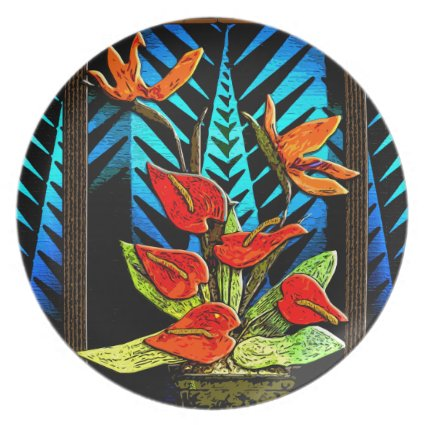 Hawiian Christmas Bouquet (Party Plate)