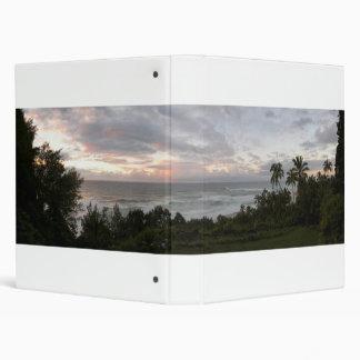 Hawiian Sunset Panoramic Binder
