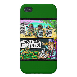 Hawiian Trump Detectives Funny Gifts & Cards Covers For iPhone 4