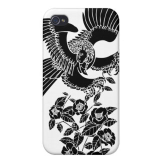 hawk and camellia 鷹椿 cases for iPhone 4