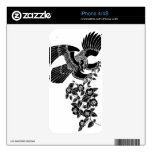 hawk falcon camellia nature animals japanese 和風 イラスト 鷹 椿 自然 獣 動物 beast monochrome pop 強さ ポップ アート black