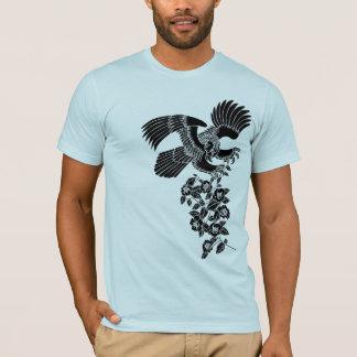 hawk and camellia 鷹 camellia T-Shirt