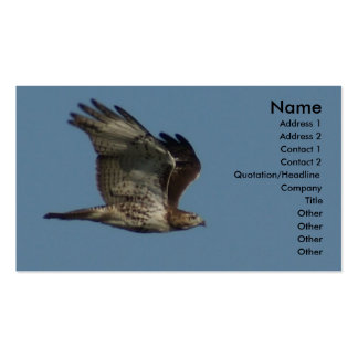 Hawk Business Card