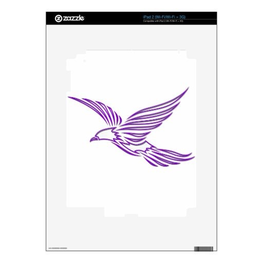Hawk Decal For The iPad 2