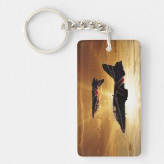 Hawk Display Jets Keychain