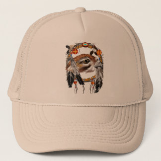 Hawk Face Dream Catcher Hat