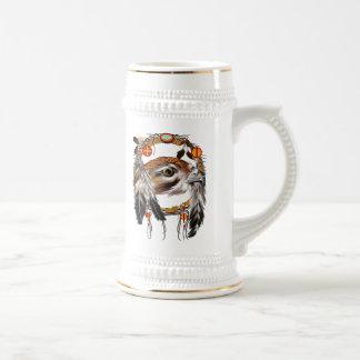 Hawk Face Dream Catcher Mug
