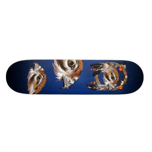 Hawk Face Dream Catcher Skateboard