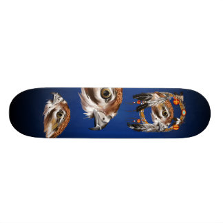 Hawk Face Dreamcatcher Skateboard