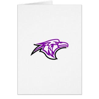 Hawk Head Card