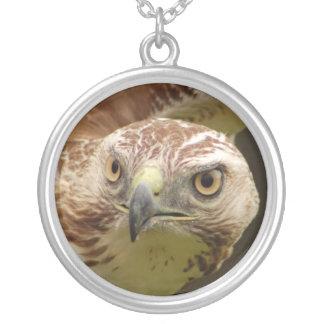 Hawk Head Necklace